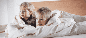 Full moon and sleep disturbances of children